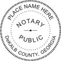 Notary Public Rubber Stamp (2)